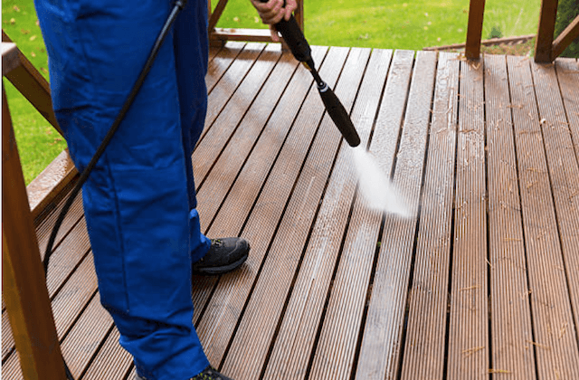deck cleaning fishers