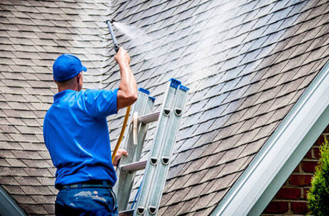 fishers roof cleaning
